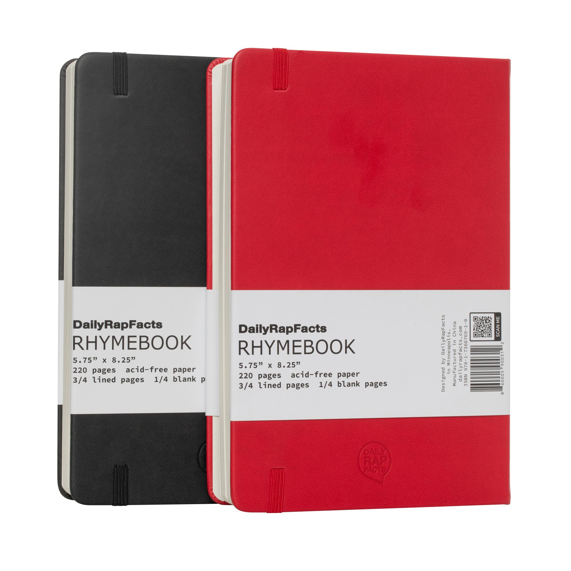 Back of Rhymebooks