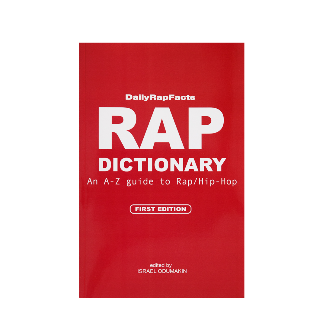 Rap Dictionary Book